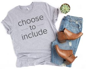 choose to include shirt