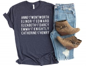 jane austen shirt valentines day