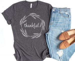 thankful shirts