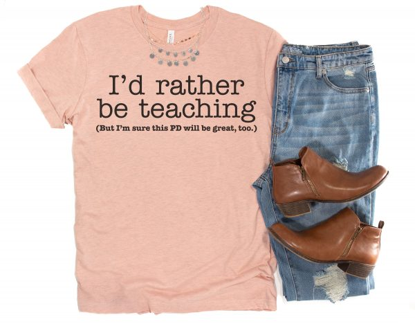 in-service shirt for teachers